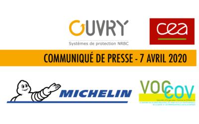 Communiqué de Presse – 7 Avril 2020