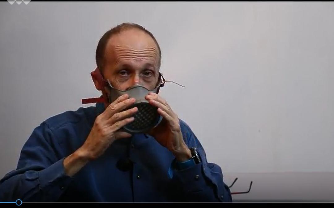 Mise en place et retrait du masque OCOV®